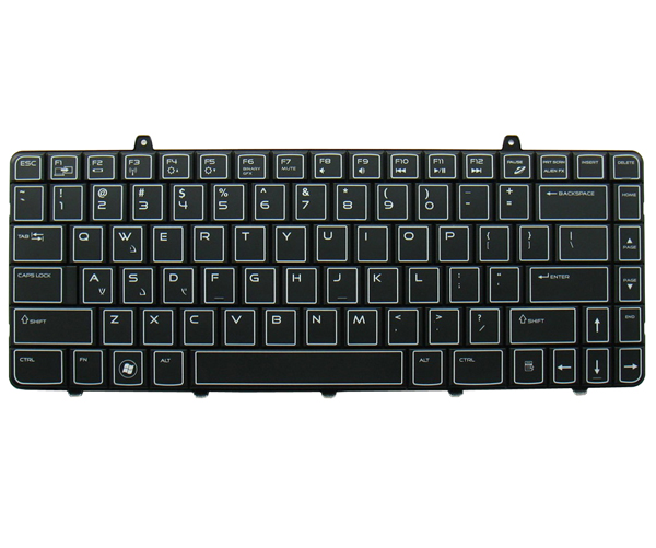 US Keyboard For DELL Alienware M11x-R1 M11x-R2 M11x-R3