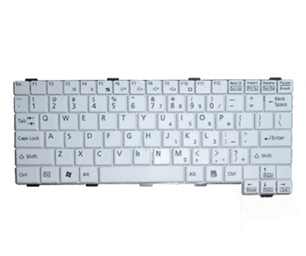 NEW Fujitsu lifebook p1610 p1620 p1510 US Keyboard White