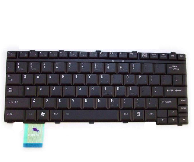Toshiba Portege M700 M750 M780 US Keyboard - Click Image to Close