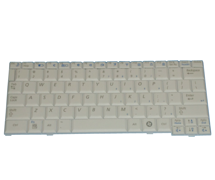 New Samsung NP-NC20 NC20 Keyboard white US