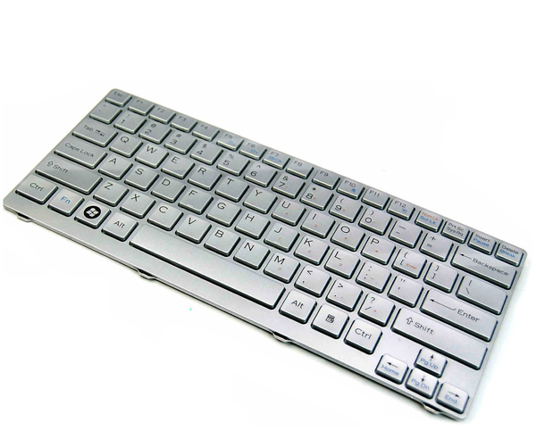 Sony Vaio VGN-CR510E 148024022 14.1 Laptop Keyboard Silver