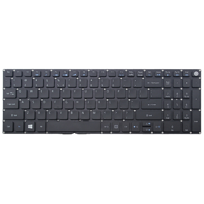 Laptop us keyboard for Acer Aspire E5-553-11PT