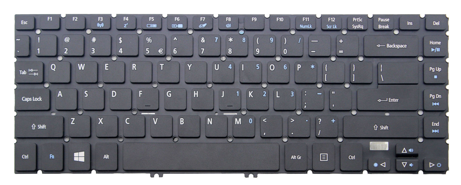 US keyboard for Acer Aspire R3-471T-560A