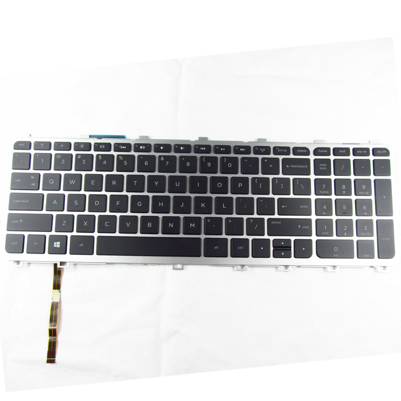 Laptop US keyboard for Hp Envy Touchsmart 17-j057cl