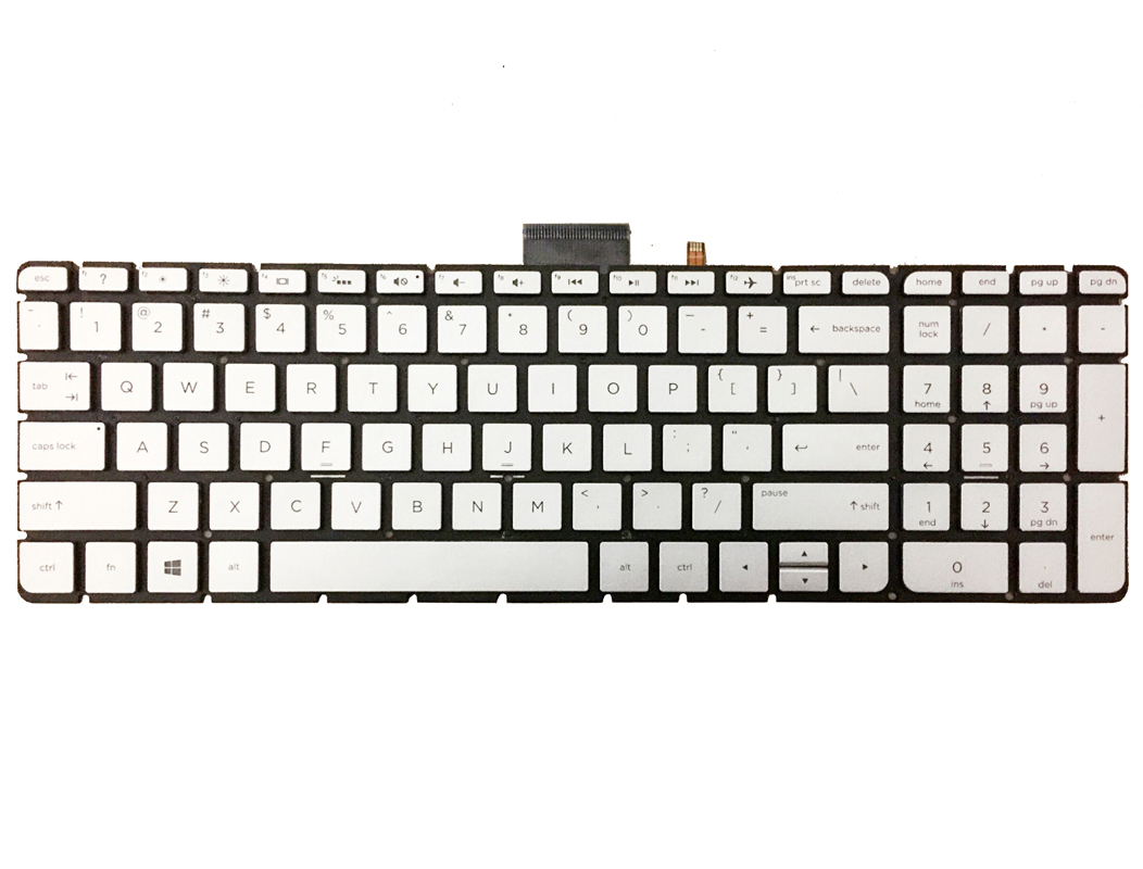 Laptop US keyboard for HP Envy 15-as014wm