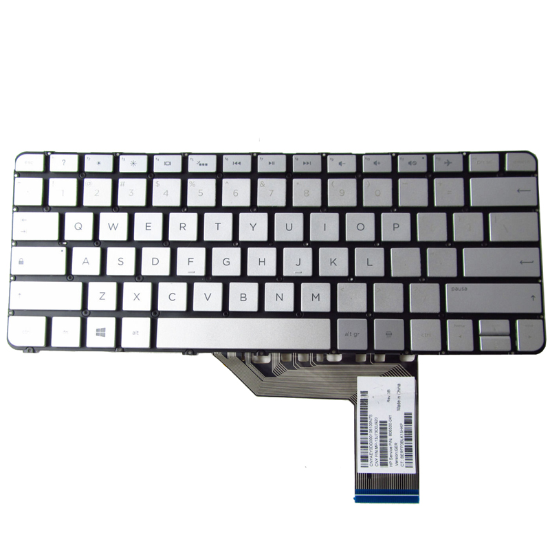 Laptop US keyboard for HP Spectre X360 13-4123nf