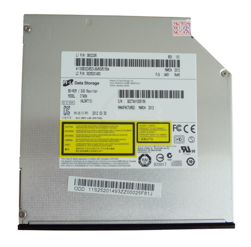 Blu Ray BD-ROM DVD/CD-RW Drive for Toshiba Satellite C855